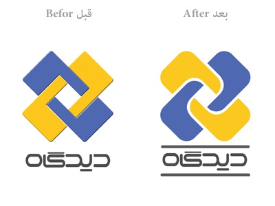 Chargoon Didgah Logo Redesign chargoon logo didgah redesign