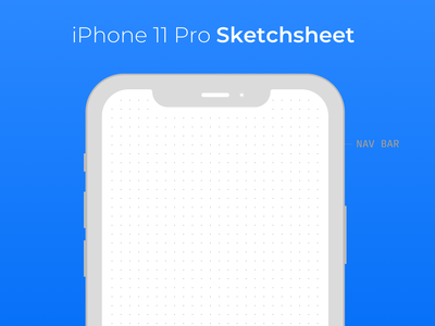 iPhone 11 Pro Sketchsheet dotted paper sketchsheet sketch iphone 11 pro
