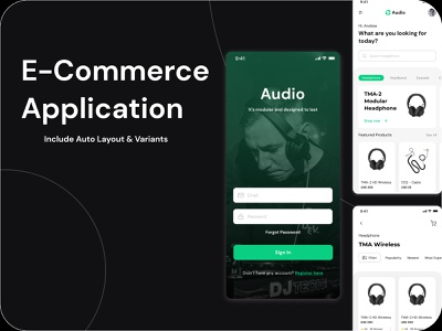 E-Commerce Application Design grocery app food delivery app uiux uidesign latest design ecommerce shop ecommerce design ecommerce app vineetjaindesign e-commerce