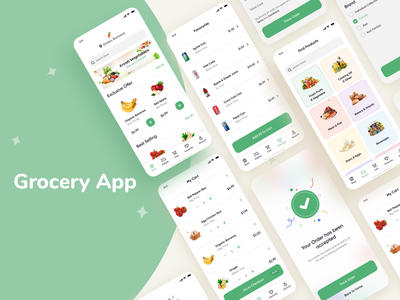 Grocery App Design vineetjaindesign