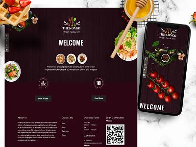 Restaurant Website Design fooddeliverywebsite fooddeliveryapp ecommerce design ecommerce app onlinedelivery restauranwebsitedesign restaurantdesign restaurant app restaurantwebsite restaurants