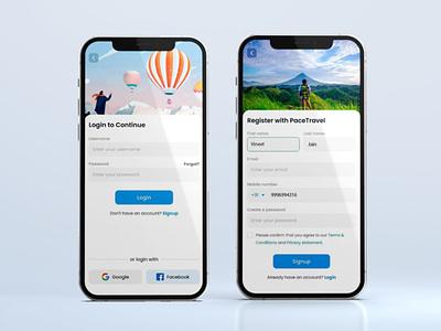 Travel app ui mobile app design traveling travel design travel travel app vineetjaindesign