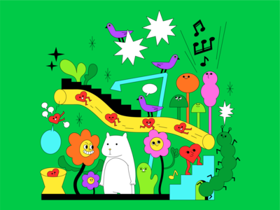 ロマンチシズム (Romanticism) - ミセスグリーンアップル ui logo icon girl animation love graphic character illustration music poster
