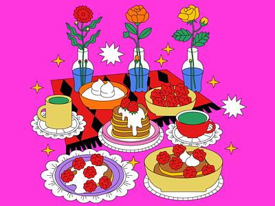 Still Here Still Life logo design icon vector girl animation graphic love character illustration
