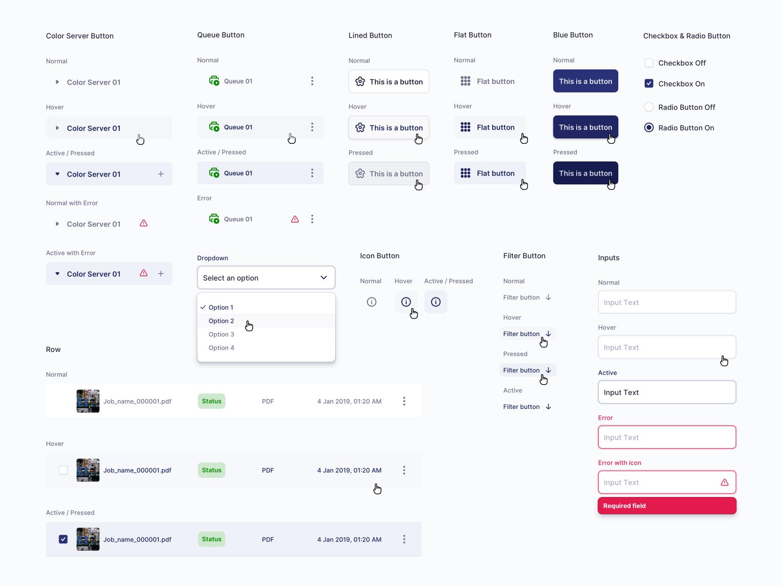 Color Management - Design System