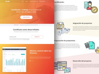 Yeeply Developers Website
