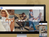 Landing Page Gioseppo - Ecommerce Experience