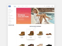 Website Gioseppo - Ecommerce Experience