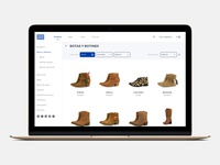 Product Category Page - Ecommerce Experience