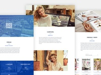 Corporate Pages Gioseppo - Ecommerce Experience