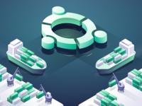 Gremlin with Docker on Ubuntu - Blog Post Illustration