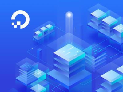 Cloud Computing Illustrations - DigitalOcean