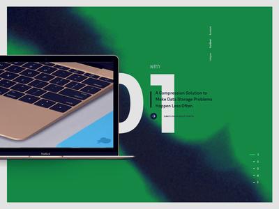 IBM Exploration interface website typography web design ui layout homepage hero grid editorial comp