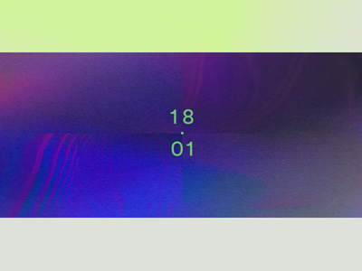 Gradient Poster graphic digital shapes color minimalism art texture gradient poster typography type