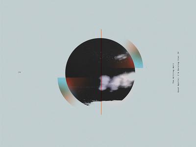 ex: I typography vintage retro logo geometric vector music moon minimalism digital sci-fi space