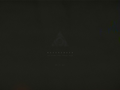 ex: II typography vintage retro logo geometric vector music moon minimalism digital sci-fi space