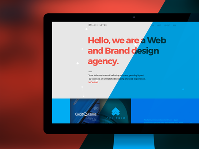Fabric Eleven wordpress design agency