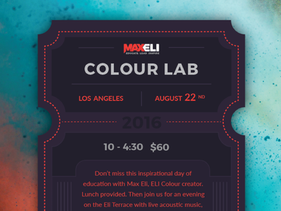 Maxeli Tickets hair colour events tickets maxeli