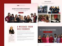 Dallas Women Entrepreneur - Sales Page