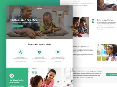 Redesigning Tuteria.com
