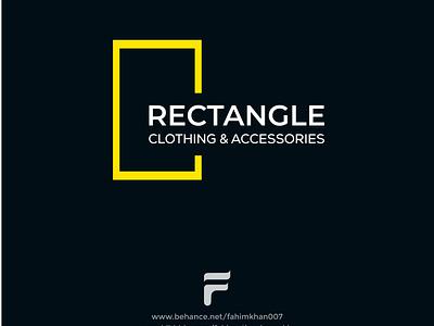 RECTANGLE Clothing Brand Logo logo folio logo trend 2021 graphic design illustration ui design logo branding designer logo inspiration brand identity logo maker branding