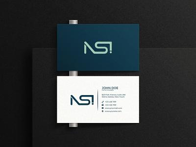NSI Logo Design designer nsi logo trend 2021 motion graphics 3d graphic design ui vector illustration design logo logo inspiration branding designer brand identity logo maker branding