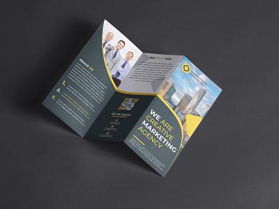 Corporate Tri Fold Brochure Design ui vector logo illustration design logo inspiration branding designer brand identity logo maker branding