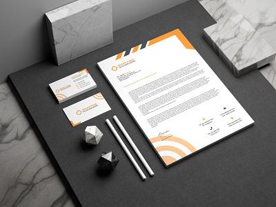 Corporate Letter Head Design vector ui illustration design logo logo inspiration branding designer brand identity logo maker branding