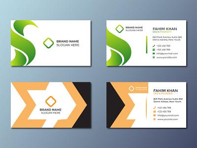 Corporate Business Card Design 2021 vector ui illustration design logo inspiration branding designer brand identity logo maker logo card design carding visiting card business card branding
