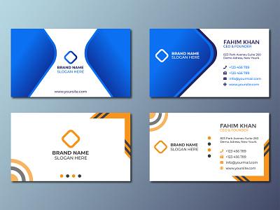 Corporate Business Card Design 2021 ui vector logo illustration design logo inspiration branding designer brand identity logo maker branding