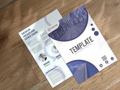 Corporate Two Page Brochure Design 2021 designer magazine company profile corporate brochure brochure brochure design branding designer brand identity logo maker branding