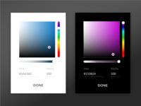 Color Picker UI Design