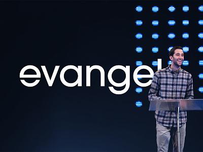 Evangel Church Rebrand clean minimal letter e brand icon mark custom type typography church strategy identity branding logo design