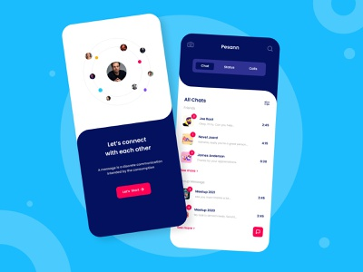 Social & Messaging Application Design : Pesann messages message people social media design social network social media socialmedia messaging app message app messaging social pesan branding smart home illustration design ui app ux