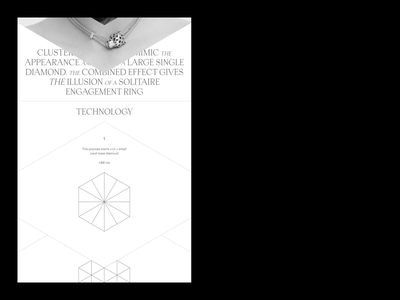 DNA design minimal ux ui concept clean web grid