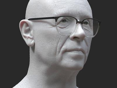 Andrei Sakharov minimal webflow interaction webgl motion graphics animation 3d