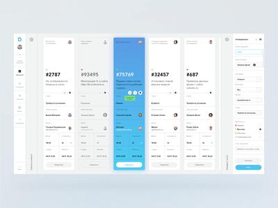 Deskman wip minimalism clean ux ui flat sketch responsive grid fullscreen desktop dashboard