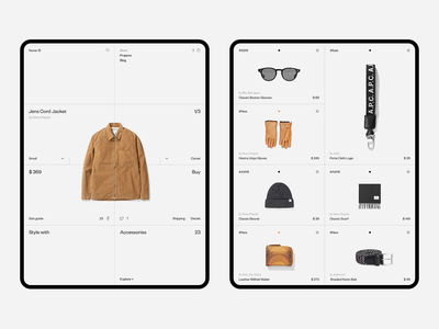 Norse Store Product mobile ipadpro ipad tablet dashboard minimalism store e-commerce white fullscreen wip minimal website ui ux responsive concept web clean grid