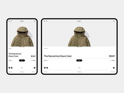 Norse® webdesign design sketch minimalism shop store desktop e-commerce fullscreen white wip minimal website ux ui responsive clean concept web grid