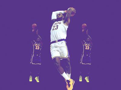 LeBron James Poster Design