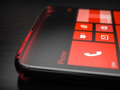 Smoky Glas Phone smoke glas smartphone ui glossy industrial design