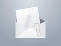 Envelope icon in Sketch