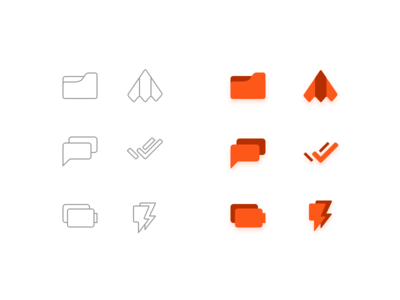 Some routine icons