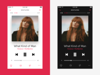 AppleMusic player redesign