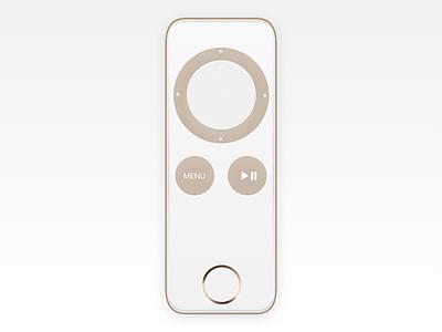 Apple TV remote concept icon design concept control remote tv apple