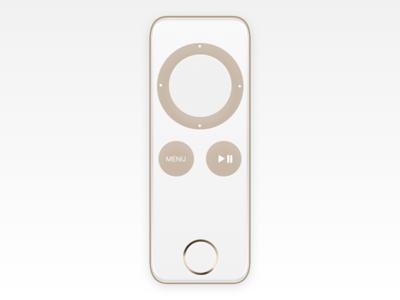 Apple TV remote concept