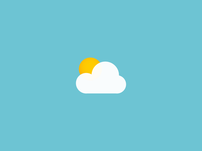 Weather icons for a weather app web mobile app ui sketch kit set icons weather