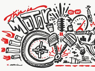 Motor Wall Graphics