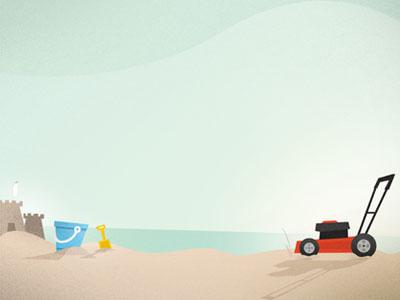 Mow the Beach