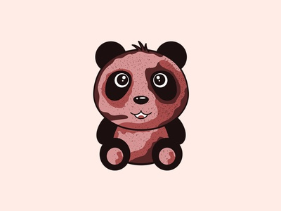 Panda T-shirt Print Design